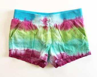 Coral Reef Tie dyed shorts