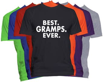 Best Gramps Ever T Shirt Fathers Day Shirt Dad Papa Pop Pops Papaw Father World's Greatest Dad T-Shirt Dad Life