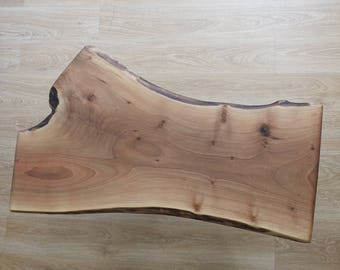 Natural Walnut 138x58x52x6 Cm coffee table