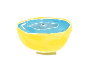 "4""x4"" Digital Art Print