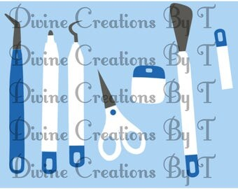 Crafting Tools SVG- On Clearance