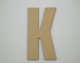 OFF 25cm MDF Wood Wooden Letters 3mm Thick CAP
