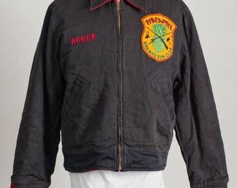 Rare 1950'S Vintage PINEAPPLE Rod And Gun Club Reversible Jacket