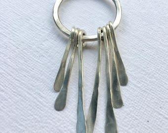 Dream catcher, pendant, silver, dreamcatcher, silver, necklace