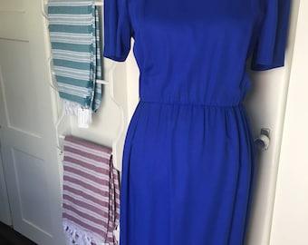 Patsy Cline Royal Blue Dress