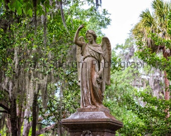 Angel Statue Standing Digital Download-Digital Photo-Photography-Angel-Angel Statue