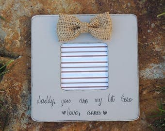 Military Dad gift, Fathers day gift, personalized picture frame for dad, Birthday gift for dad, custom gift for dad grandpa, Veteran gift