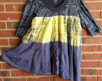 Funky beach party tunic