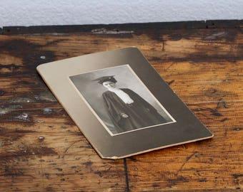 Graduate Vintage Black and White Photograph
