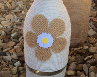 25 gorgeous sunflower and daisy themed wedding bottles