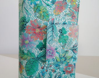 Medium Floral-Print Jacquard Shoulder Bag