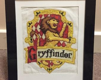 Harry Potter Gryffindor house crest