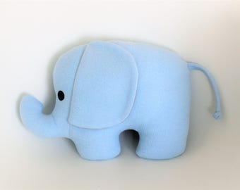 Cushion blue elephant