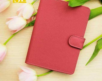 Top Pink - Case for readers Amazon Kindle Paperwhite, 4, 5, 6, PocketBook Touch, 6626, 624, Sony PRS-T2, AirBook