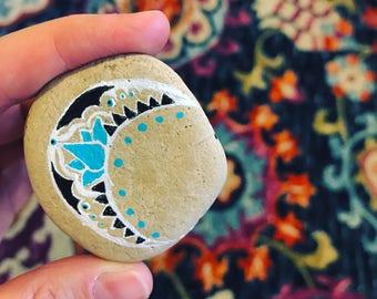 Mandala Moon Rock