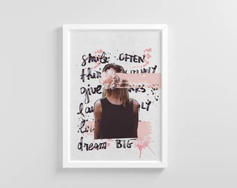 To do | Collage | Fashion | Wall Art Printable | Photography
