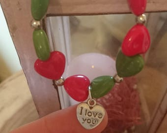 Bracelet with hearts!