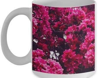 Flower Coffee Mug -- Pink Blossoms