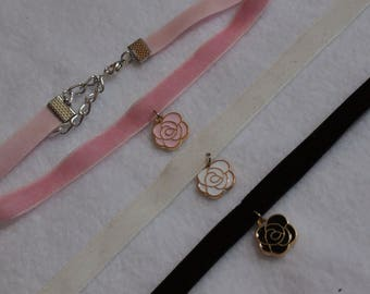 Cute Rose Chokers