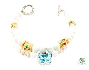 Beautiful Swarovski Bead Bracelet