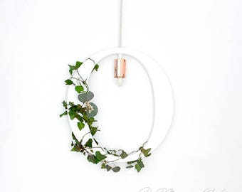 Wood Lighting Letters with Preserved Plants. Letter Home Decor. Letter Pendant Light. Lighted Letter. Wedding Letters. Letter Decor.