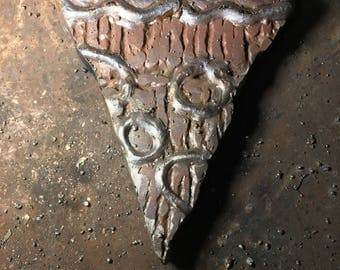 Metal Pizza Slice