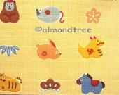 Zodiac Animals 50cm x 55cm Japan fabric id1370609