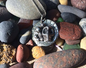 Pebble Collector Spirit Charm Pendant