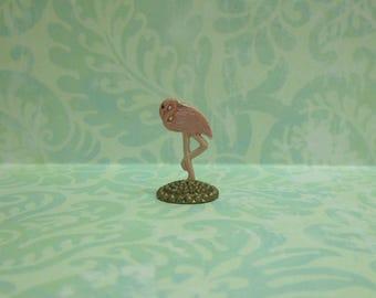 Miniature Wonderland Flamingo Figurine