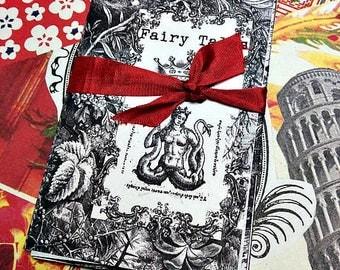Mini Zine >> Fairy Tales Antique illustrations > Mermaids > Black & White Engravings > pen + ink > Art zine > Miniature Art > Coloring Pages