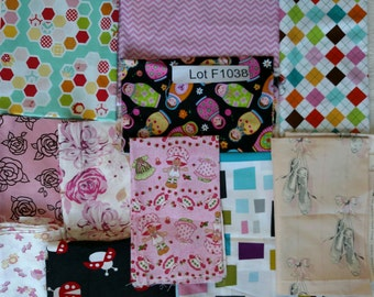 Girls Fabric DESTASH LOT F1038 First 2 Images only. Kids Quilting Cotton Nearly 3.5 yards total Russian Dolls, Flowers. More Lots Available