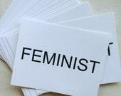 New FEMINIST POSTCARDS, Anna Joyce, Portland Oregon, Womens Movement,