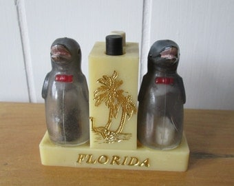vintage Florida dolphin salt and pepper shakers
