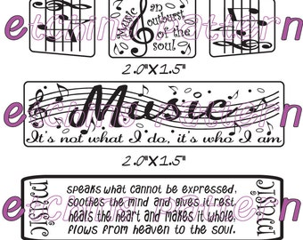 Making Music is what I do= Etching pattern download DT-T-MIN