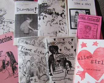 Riot Grrrl Nostalgia zine grab bag TWO
