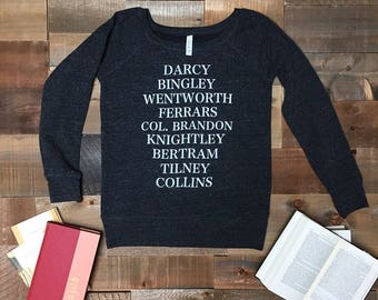 NEW Jane's Men / women's sweatshirt - S, M, L, XL, 2XL - Jane Austen - Pride and Prejudice - Sense and Sensibility - Northanger Abbey - Emma