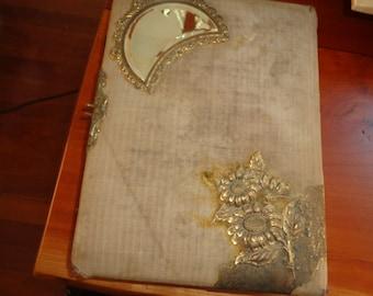Rare Antique Photograph Album/ Victorian Photograph Album/Collectible Vintage Decorative Album