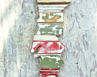 Portugal Mosaic, Reclaimed Wood Art, Country Outline, Lisbon Art, Portugese Wall Art,Wooden Portugal Map, New Bedford Decor, Portugese Gift