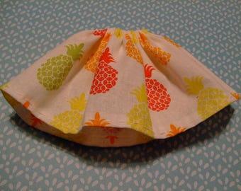 Blythe / DAL Skirt - Summertime Pineapples
