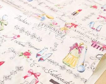 Japanese Fabric Yuwa Perfume - multi - 50cm