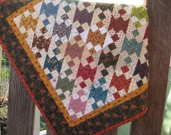 Small Quilt Wall Hanging Scrappy