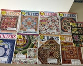 Quilters Newsletter Magazine 2006 - 9 Issues