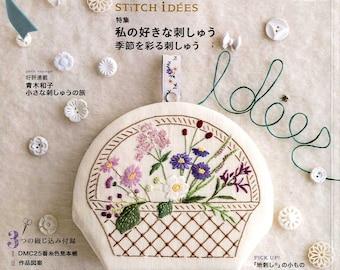 STITCH IDEAS Vol 24 - Japanese Embroidery Craft Book