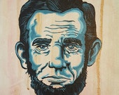 Abe Lincoln - Original painting by Mr Hooper of Nashville Tennessee