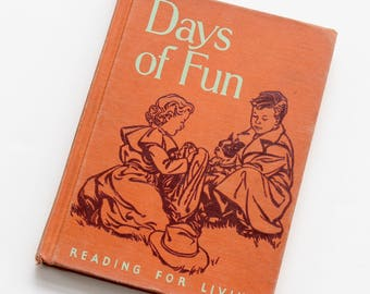 Days of Fun - Vintage 1950 Bobbs-Merrill Reader