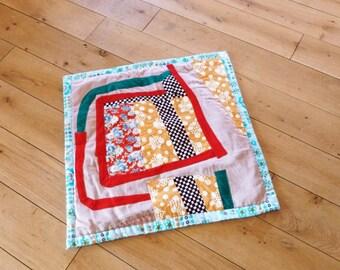 "Baby blanket comforter ""Square snail"""