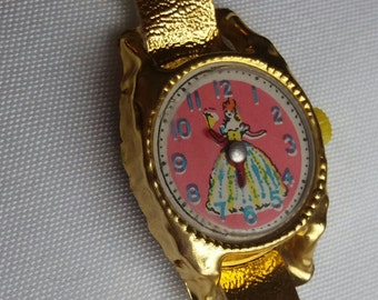 Vintage Dime store Play Watch..New Vintage stock