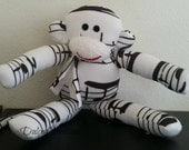 Custom made for sbomia79  Musical note monkey plush toy Handmade Stuffed Animal Doll Baby