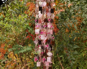 Prudence - Unique Wind Chimes - Suncatcher - OOAK Gift For Her, Anniversary, Birthday, Wedding, Housewarming
