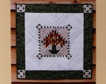 Quilt Pattern - The Lone Pine by MH Designs - Paper Foundation Pattern